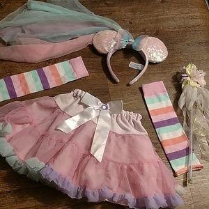Minnie mouse fairy costume